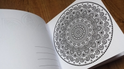 The One and Only MINI MANDALA Colouring Book
