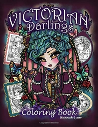 Victorian Darlings Coloring Book - Hannah Lynn