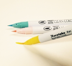 ZIG Kuretake Clean Color Real Brush Pen