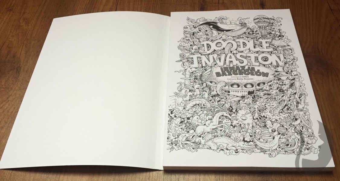 Zifflins Coloring Book Doodle Invasion The Highly