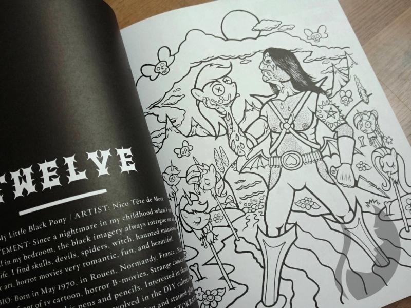Black Metal A Coloring Book
