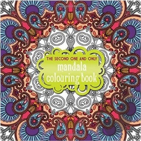 The Second and Only MANDALA Colouring Book